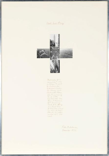 Peter Arthur Hutchinson, 'West End Story', 1972, Doyle