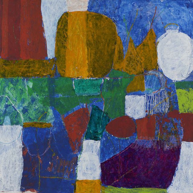Charlotte Park, 'Untitled ', 1986, Painting, Acrylic and oil crayon on canvas, Berry Campbell Gallery