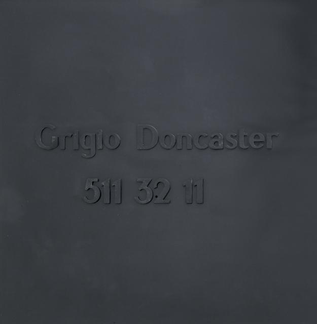 , 'Grigio Doncaster 511 32 11,' 1967, Dep Art