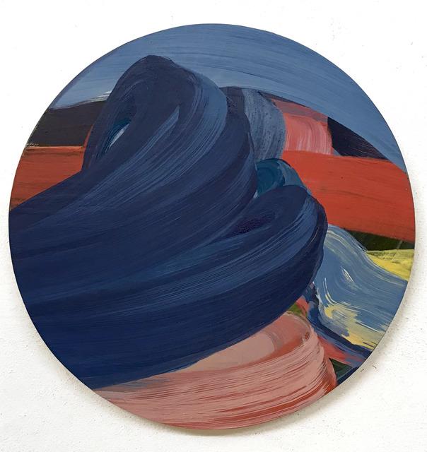 , 'Tondo,' 2017, Galleria Doris Ghetta