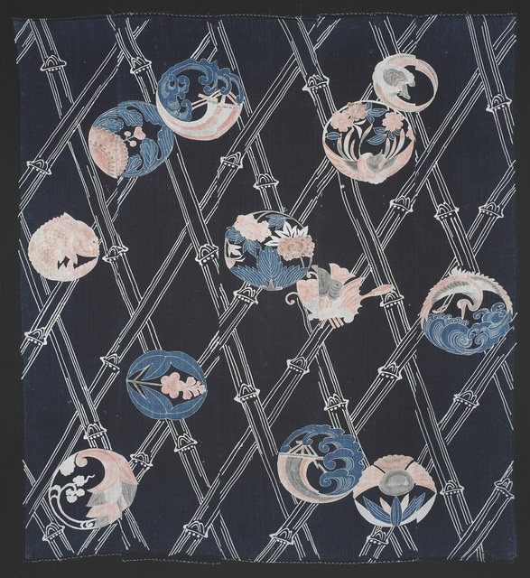 , 'Bedding Cover (futonji),' 19th Century, Seattle Art Museum