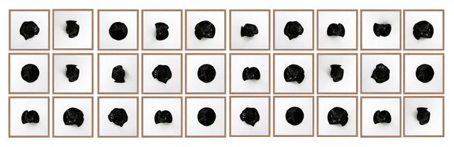, 'Untitled (All Tomorrow's Parties Black 30),' 2016, Machete