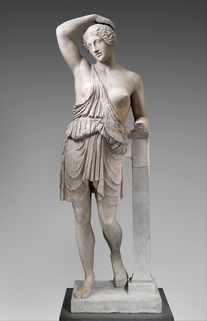 Unknown Roman, 'Marble statue of a wounded Amazon', 1st–2nd century A.D., The Metropolitan Museum of Art