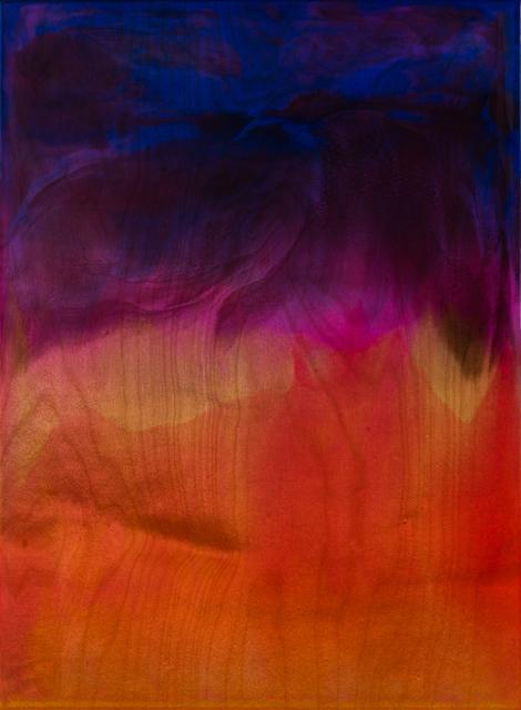 , 'Flow – Deep Purple, Hot Pink, Orange,' 2019, Galerie pompom