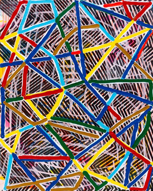 , 'Wireframe Scrambler (The Chair),' 2015, Newzones