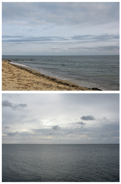 , 'View of the Atlantic Ocean / View of the English Channel,' , artlead