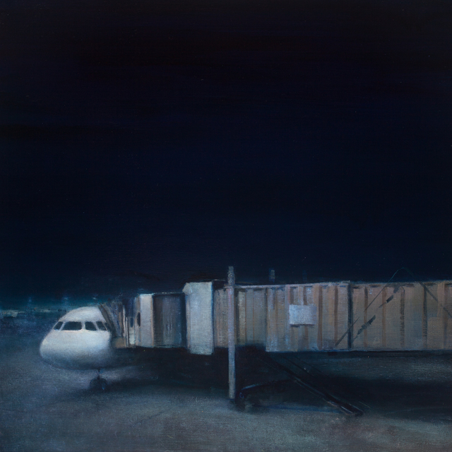Trevor Young, 'Resting Fuselage', 2018, Painting, Oil on linen on panel, George Billis Gallery