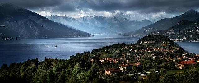 David Drebin, 'Escape to Lake Como', 2012, Isabella Garrucho Fine Art