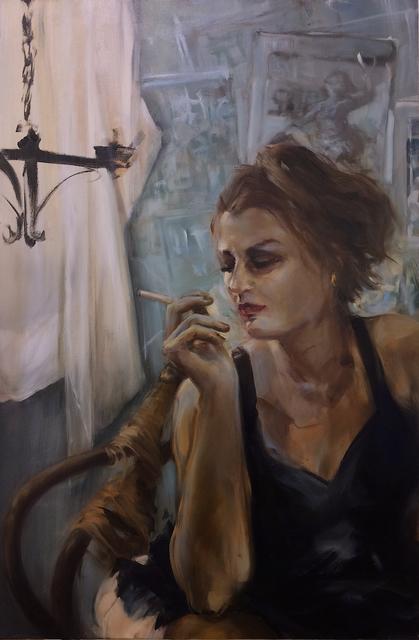 , 'Cigarette White,' 2017, Studio 21 Fine Art