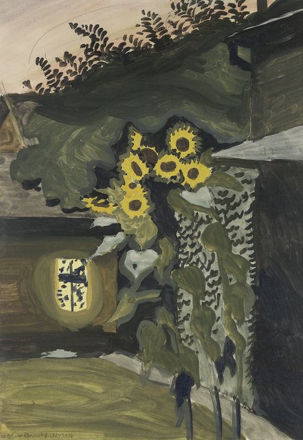 , 'Sunflowers at Late Dusk,' 1916, Questroyal Fine Art