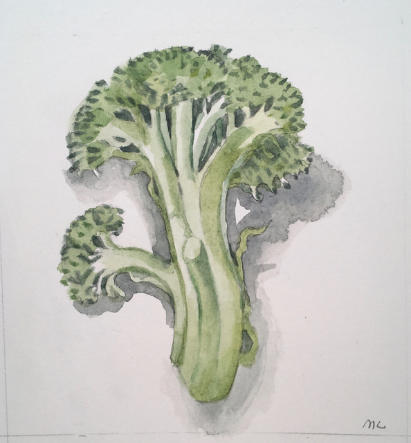 , 'Broccoli,' 2017, Clyde Hogan Fine Art
