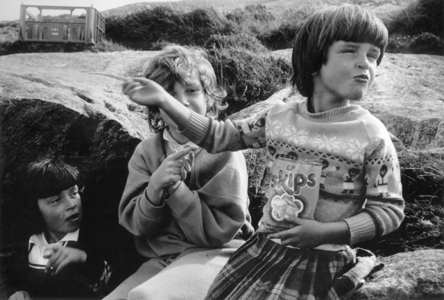 , 'Toots, Catriona & Maggie, from The Vatersay Series,' 1985, ElliottHalls
