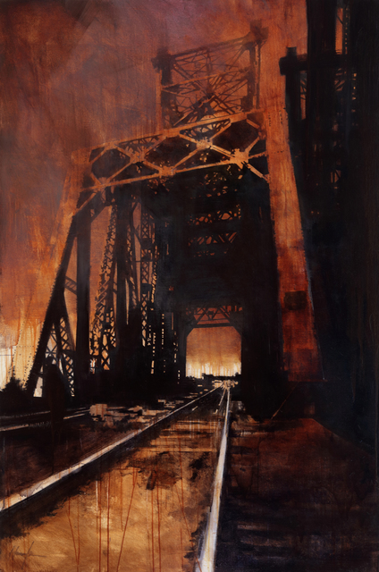 , 'August Bridge,' 2014, West Branch Gallery