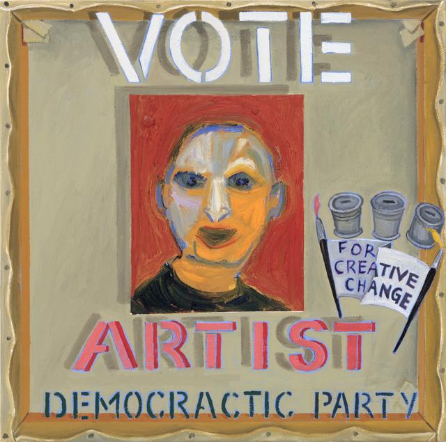 , 'Election Poster I,' 2018, Barnard