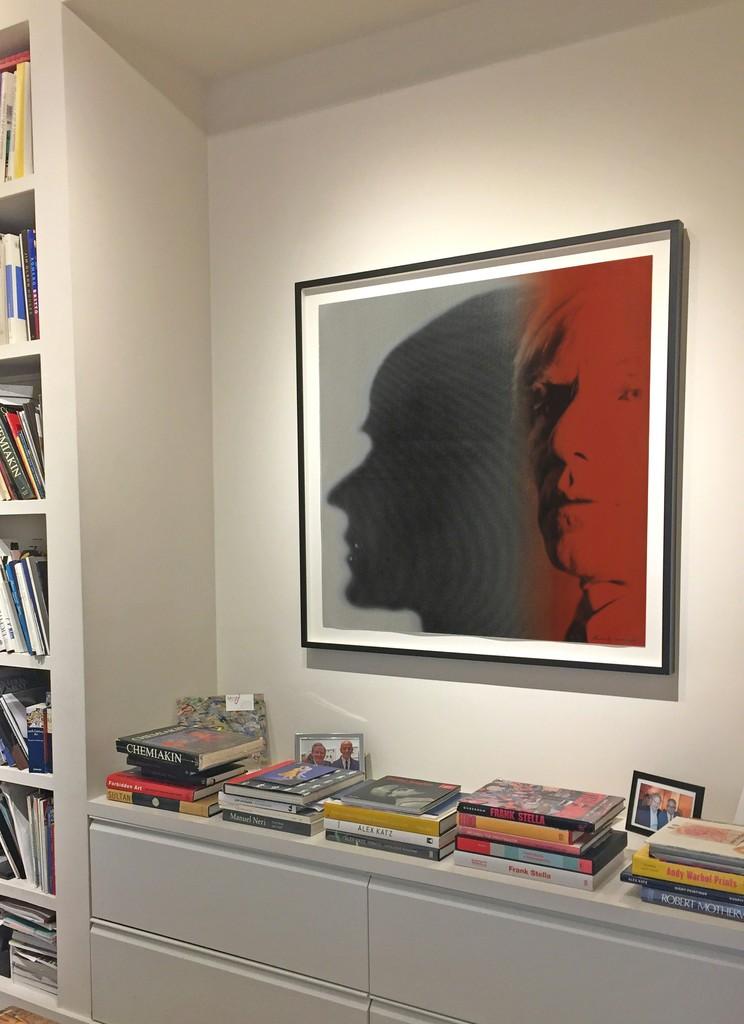 Andy Warhol, The Shadow, installation at Meyerovich Gallery, San Francisco