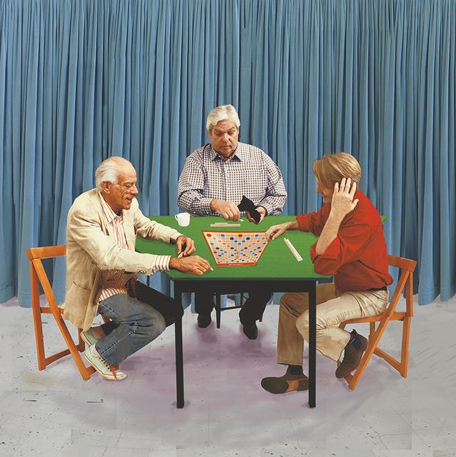 , 'A Bigger Scrabble Players,' 2015, Annely Juda Fine Art