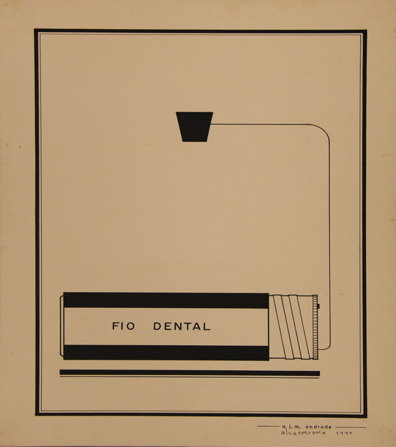 , 'Untitled Visual Poem,' 1974, Roberto Alban Galeria de Arte