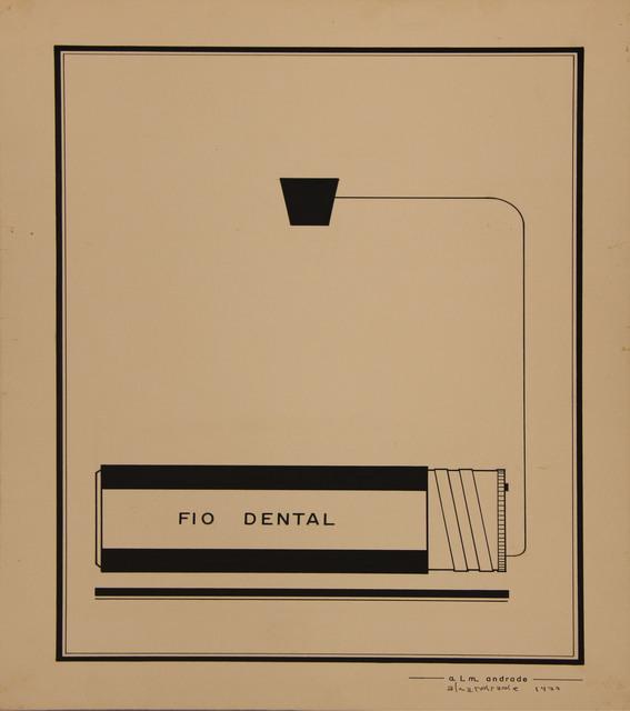 , 'Untitled Visual Poem,' 1974, Roberto Alban Galeria de Arte