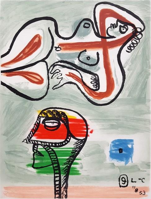 Le Corbusier, 'Unité, Planche 9 (Set of 2)', 1965, Graves International Art