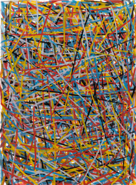 Sol LeWitt, 'Straight Brushstrokes in All Directions,' 1993, Sotheby's: Contemporary Art Day Auction