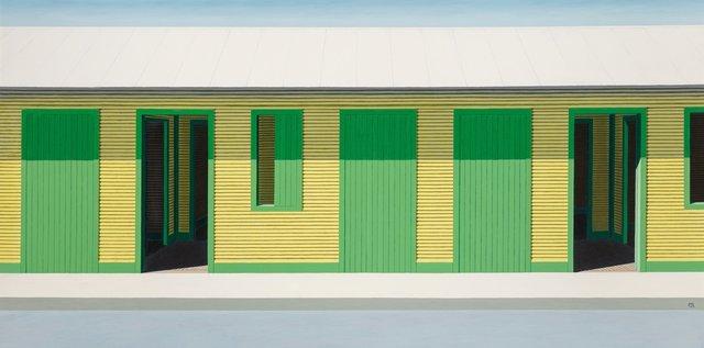 Emilio Sanchez, 'Long Yellow House', Heritage Auctions