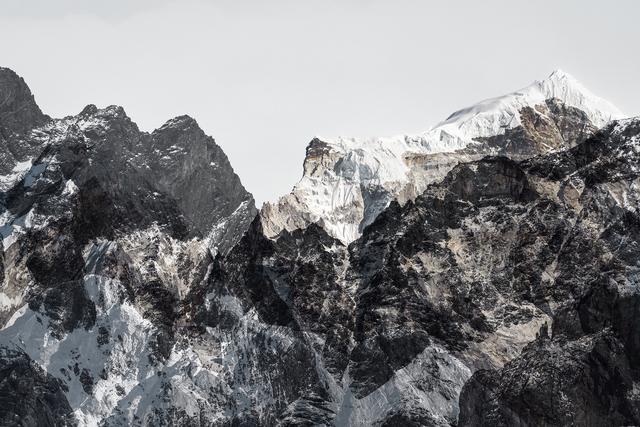 Renate Aller, 'PLATE 7 | Switzerland, Alps, March 2016 | Nepal, Himalayas, Everest Region, Dec 2016   ', 2016, Catherine Couturier Gallery