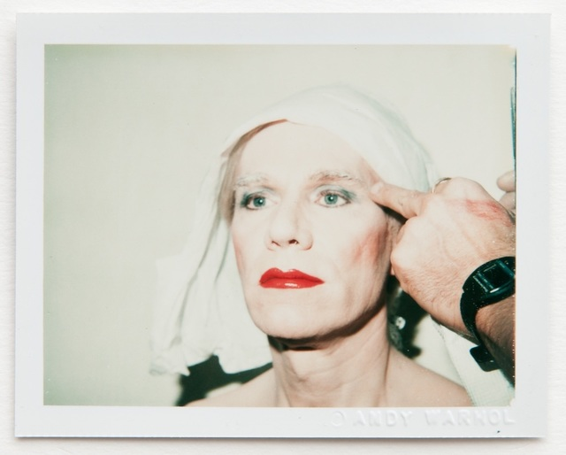 Andy Warhol, 'Andy Warhol, Polaroid Self-Portrait in Drag ', Hedges Projects