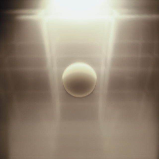 , 'Meteora bianca - Meteora n°10 (spazio in movimento) [White Meteor - Meteor n. 10 (space in movement) ,' 1970-1971, Richard Saltoun