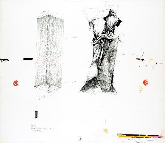 Vladimir Velickovic, 'La chute, Figure II', 1979, Digard Auction
