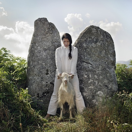 , 'Holding the Goat, from series Back to Simplicity,' 2010, Galleri Brandstrup