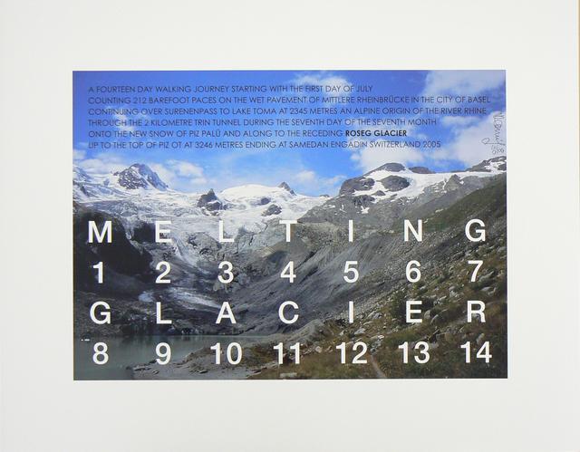 , 'Melting Glacier,' 2005, Rhona Hoffman Gallery