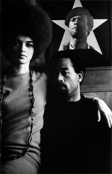, 'Eldridge Cleaver and His Wife, Kathleen, Algiers, Algeria,' 1970, Adamson Gallery