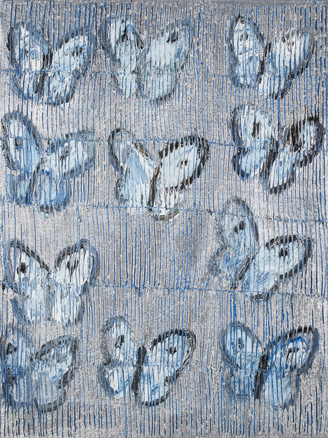 , 'Blue and Silver Butterflies,' , Gilman Contemporary