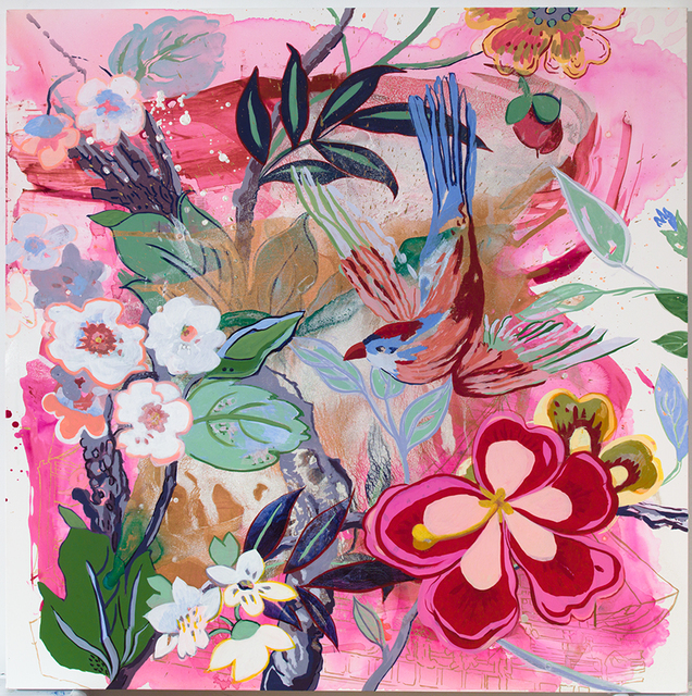 , 'Pink Feeder,' 2015, Emerson Dorsch