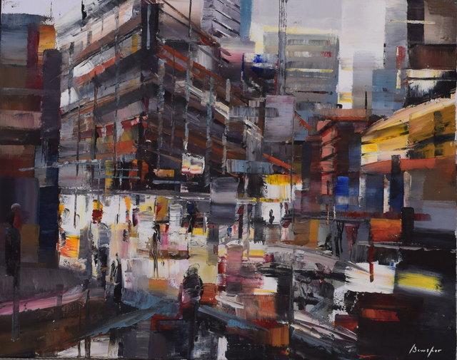 Steven Bewsher, 'Street Junction (Tib Street)', Gateway Gallery