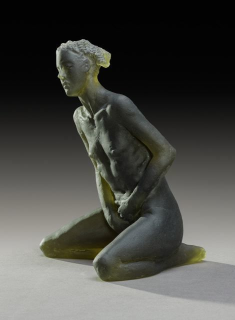 , 'Untitled Scheile Figure (variation, kneeling) ,' 2015, Nancy Hoffman Gallery