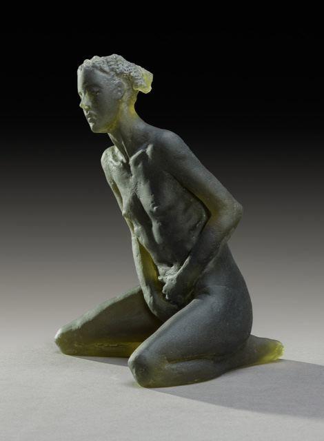 Nicolas Africano, 'Untitled Scheile Figure (variation, kneeling) ', 2015, Nancy Hoffman Gallery