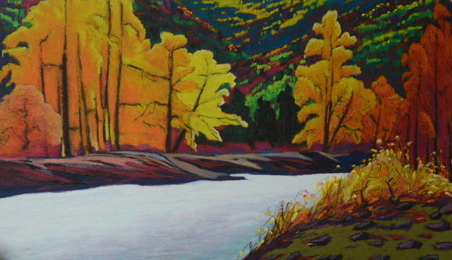 , 'Autumn of Kherlen river,' 2017, Best Art Gallery