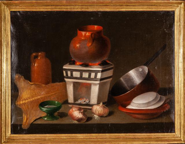 Unknown, 'Spanish School / Still life with pots', XIX, Galería Marita Segovia