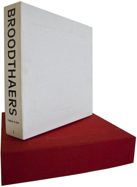 Marcel Broodthaers, 'Marcel Broodthaers: Tinaia 9 Box', 1994, ArtWise