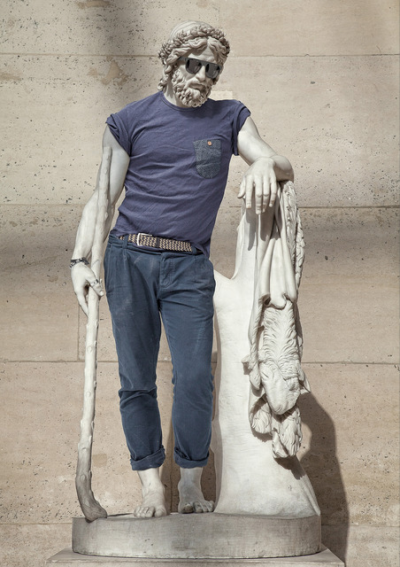 , 'Hipster in Stone I - Aristaeus,' 2012, VICTORI+MO CONTEMPORARY