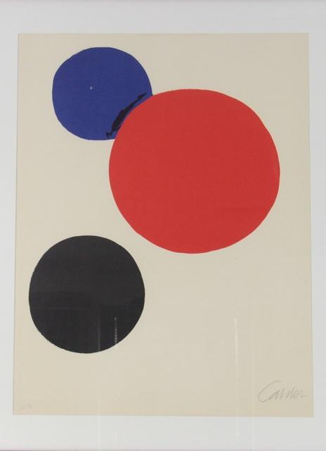 , 'Cercle noir, rouge, bleu,' 1974, Fólio Livraria