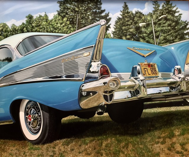 , 'Chevy in the Park ,' 2016, Bernarducci Gallery