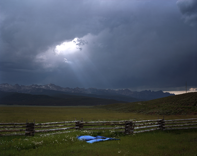 , 'Blue Tarp, Sawtooth Mountains, Custer County, Idaho, 2004 1/5,' , Gail Severn Gallery