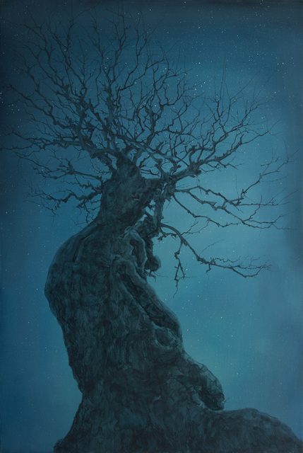 , 'Ancient Tree No.4,' 2014, Longmen Art Projects