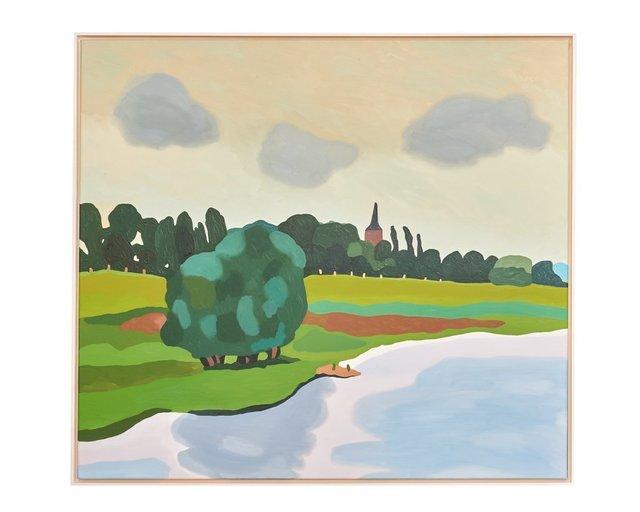 , 'Der Rhein bei Bislich,' 2015, Bode Gallery