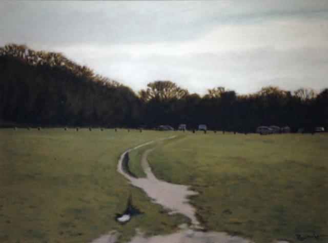 , 'A Walk In The Park II,' 2018, Reuben Colley Fine Art