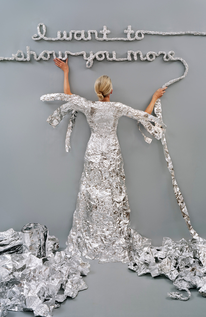 , 'Lost in My Life (Tin Foil) ,' 2012, Yancey Richardson Gallery