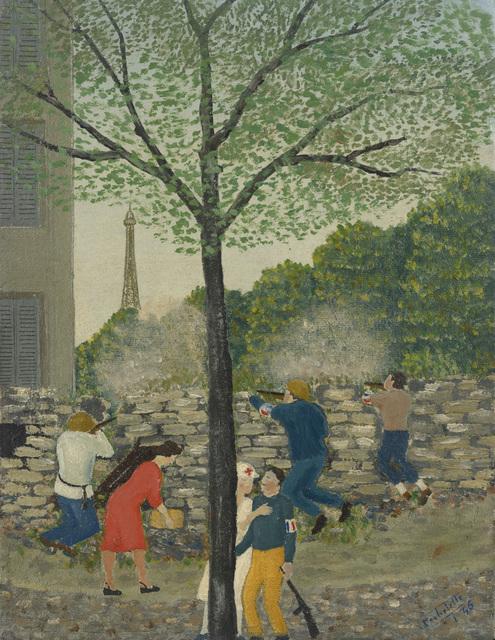 , 'Les barricades (Beau-grenelle),' 1946, Jeanne Bucher Jaeger