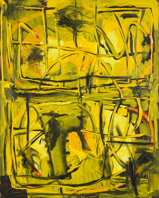 , 'Yellow #S,' 2017, Louis 21